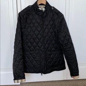Burberry Quilt Jacket-Authentic-EUC